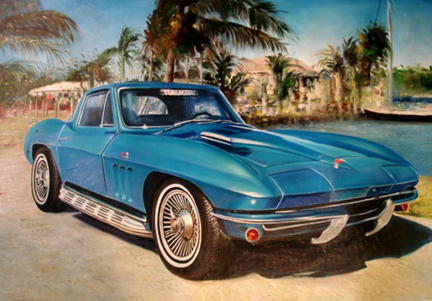 Corvette Stingray on 1966 Corvette Stingray 427